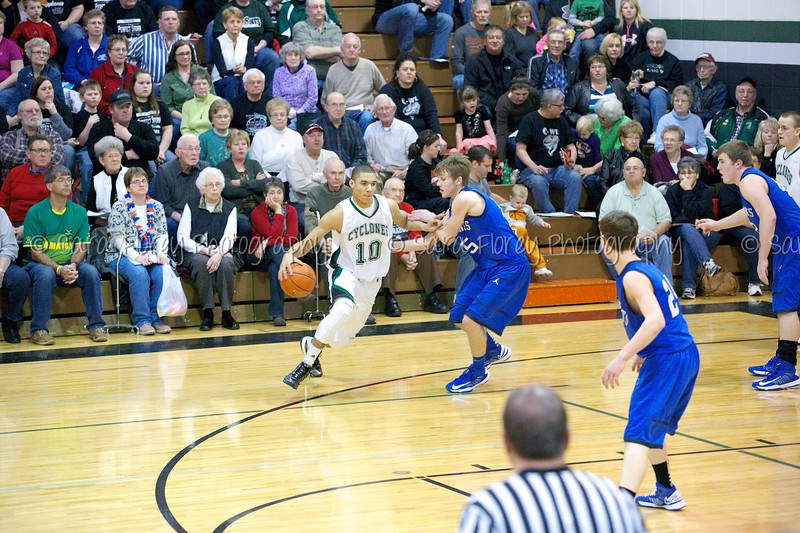 Clark Cyclone Basketball 12