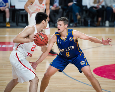 Daniel Kickert - Brisbane Bullets Basketball v Chinese National Men's Basketball Team, Gold Coast Sports & Leisure Centre, Carrara, Gold Coast, Queensland, Australia; Tuesday 18 July 2017. Photos by Des Thureson - http://disci.smugmug.com