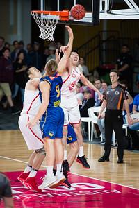 Tanner McGrew - Brisbane Bullets Basketball v Chinese National Men's Basketball Team, Gold Coast Sports & Leisure Centre, Carrara, Gold Coast, Queensland, Australia; Tuesday 18 July 2017. Photos by Des Thureson - http://disci.smugmug.com