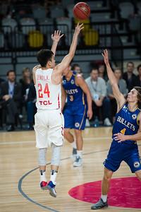 Zeng - Brisbane Bullets Basketball v Chinese National Men's Basketball Team, Gold Coast Sports & Leisure Centre, Carrara, Gold Coast, Queensland, Australia; Tuesday 18 July 2017. Photos by Des Thureson - http://disci.smugmug.com