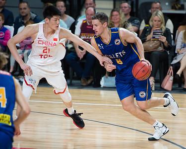 Daniel Kickert - Brisbane Bullets Basketball v Chinese National Men's Basketball Team, Gold Coast Sports & Leisure Centre, Carrara, Gold Coast, Queensland, Australia; Tuesday 18 July 2017. Photos by Des Thureson - http://disci.smugmug.com