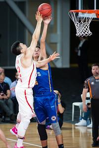 Tyrell Harrison - Brisbane Bullets Basketball v Chinese National Men's Basketball Team, Gold Coast Sports & Leisure Centre, Carrara, Gold Coast, Queensland, Australia; Tuesday 18 July 2017. Photos by Des Thureson - http://disci.smugmug.com