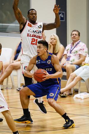 Brisbane Bullets v Illawarra Hawks Basketball at USC - Portfolio Gallery