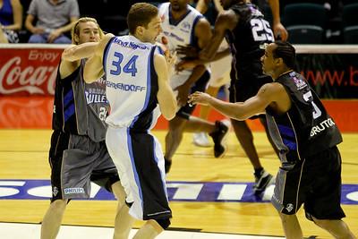 Brisbane Bullets v New Zealand Breakers - NBL Basketball. Photos by Des Thureson:  http://disci.smugmug.com
