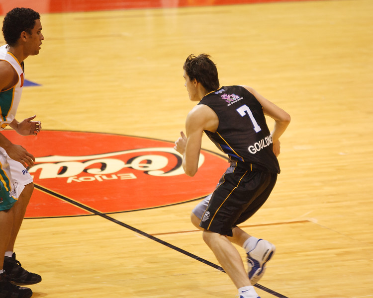 "AA - ""Bubbles for the Bullets"" - Chris Goulding in his first NBL Game - Brisbane Bullets - 23 December 2006 -"