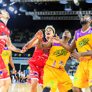 London Lions v Leicester Riders, 80-84