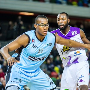 BBL Basketball: London Lions v Surrey Scorchers, 14th Jan 2017, Copper Box Arena, London