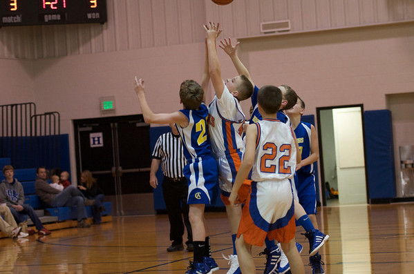 CAI 6th Grade BBall vs Silvercreek 2011