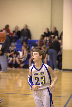 CAI Boys MS B Team vs Rock Creek 12-18-2012