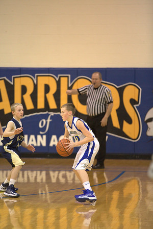CAI MS Boys B Team Vs Whitefield 12-21-12