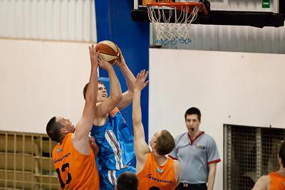 Tom Garlepp - Cairns Taipans v Gold Coast Blaze Pre-season  NBL Basketball, Auchenflower, Brisbane, Queensland, Australia; 3 September 2011. Photos by Des Thureson:  http://disci.smugmug.com.