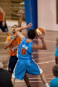 Cairns Taipans v Gold Coast Blaze Pre-season  NBL Basketball, Auchenflower, Brisbane, Queensland, Australia; 3 September 2011. Photos by Des Thureson:  http://disci.smugmug.com.