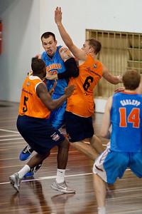 Will Hudson - Cairns Taipans v Gold Coast Blaze Pre-season  NBL Basketball, Auchenflower, Brisbane, Queensland, Australia; 3 September 2011. Photos by Des Thureson:  http://disci.smugmug.com.