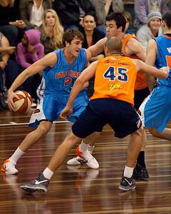 Zac Carter - Cairns Taipans v Gold Coast Blaze Pre-season  NBL Basketball, Auchenflower, Brisbane, Queensland, Australia; 3 September 2011. Photos by Des Thureson:  http://disci.smugmug.com.