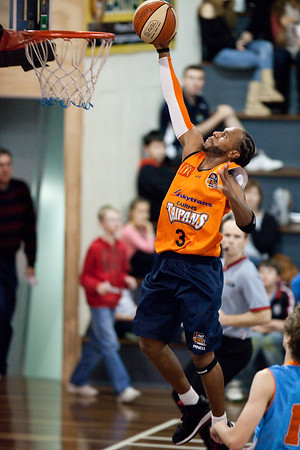 Deba George - Cairns Taipans v Gold Coast Blaze Pre-season  NBL Basketball, Auchenflower, Brisbane, Queensland, Australia; 3 September 2011. Photos by Des Thureson:  http://disci.smugmug.com.