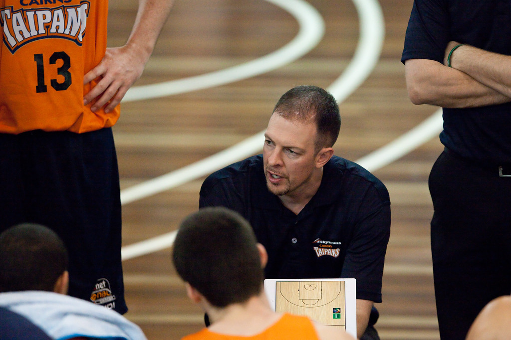 "Cairns Taipans v Gold Coast Blaze Pre-season  NBL Basketball, Auchenflower, Brisbane, Queensland, Australia; 3 September 2011. Photos by Des Thureson:  <a href=""http://disci.smugmug.com"">http://disci.smugmug.com</a>."