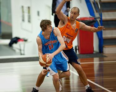 Heath Gameren - Cairns Taipans v Gold Coast Blaze Pre-season  NBL Basketball, Auchenflower, Brisbane, Queensland, Australia; 3 September 2011. Photos by Des Thureson:  http://disci.smugmug.com.