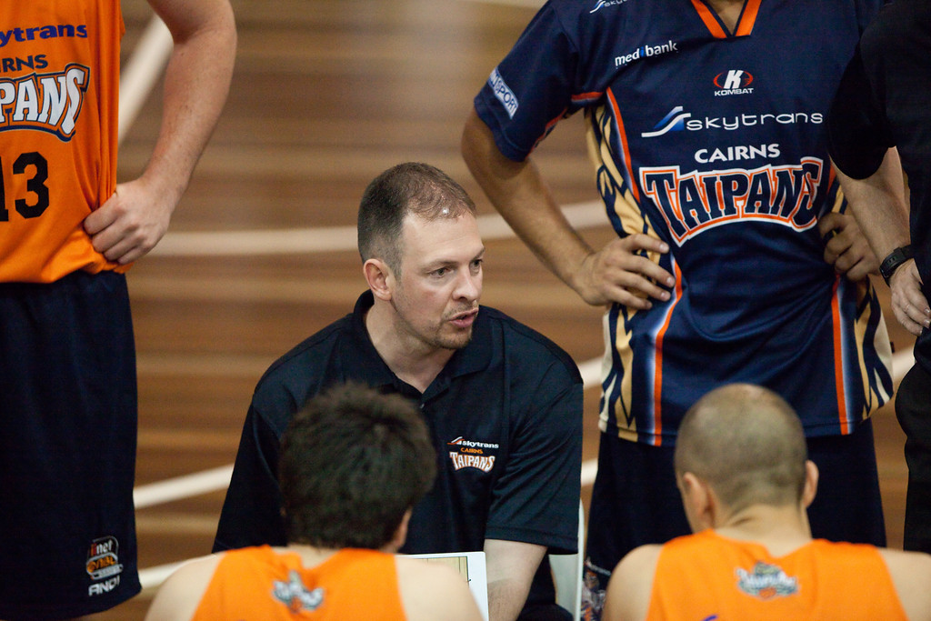 "Aaron Fearne - Cairns Taipans v Gold Coast Blaze Pre-season  NBL Basketball, Auchenflower, Brisbane, Queensland, Australia; 3 September 2011. Photos by Des Thureson:  <a href=""http://disci.smugmug.com"">http://disci.smugmug.com</a>."