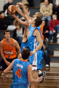 Cairns Taipans v Gold Coast Blaze Pre-season  NBL Basketball, Auchenflower, Brisbane, Queensland, Australia; 3 September 2011. Photos by Des Thureson:  http://disci.smugmug.com.