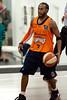 """Deba George - Cairns Taipans v Gold Coast Blaze Pre-season  NBL Basketball, Auchenflower, Brisbane, Queensland, Australia; 3 September 2011. Photos by Des Thureson:  <a href=""""http://disci.smugmug.com"""">http://disci.smugmug.com</a>."""