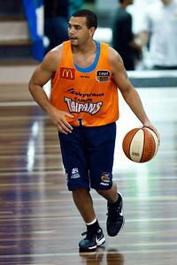 Kerry Williams - Cairns Taipans v Gold Coast Blaze Pre-season  NBL Basketball, Auchenflower, Brisbane, Queensland, Australia; 3 September 2011. Photos by Des Thureson:  http://disci.smugmug.com.