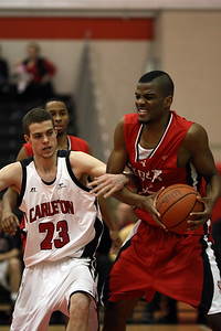 Anthony Ashe and York's Stefan Haynes (MURR4206) Anthony Ashe and York's Stefan Haynes (MURR4206)