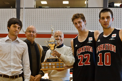 Carleton wins House-Laughton Tournament