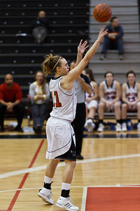 Ashleigh Cleary Cleary sinks a crucial late game foul shot