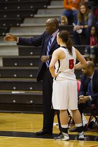 Coach Taffe Charles and Alyson Bush