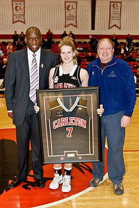Courtney Smith along with her father and Coach Taffe Charles