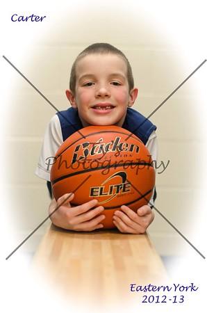 Carter Basketball 2012-13