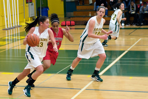 Castro Valley Girls vs Arroyo