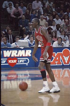 Cavs vs Bulls January 6, 1989