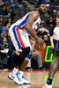 Jan 6, 2013; Auburn Hills, MI, USA; Detroit Pistons power forward Jason Maxiell (54) during the third quarter against the Charlotte Bobcats at The Palace. Bobcats won 108-101 in overtime. Mandatory Credit: Tim Fuller-USA TODAY Sports