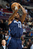 Jan 6, 2013; Auburn Hills, MI, USA; Charlotte Bobcats power forward Tyrus Thomas (12) during the first quarter against the Detroit Pistons at The Palace. Mandatory Credit: Tim Fuller-USA TODAY Sports