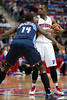 Jan 6, 2013; Auburn Hills, MI, USA; Charlotte Bobcats small forward Michael Kidd-Gilchrist (14) guards Detroit Pistons point guard Rodney Stuckey (3) during the fourth quarter at The Palace. Bobcats won 108-101 in overtime. Mandatory Credit: Tim Fuller-USA TODAY Sports