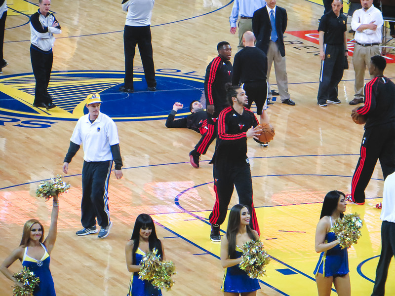 Chicago Bulls at Golden State Warriors