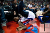 April 15, 2012; Auburn Hills, MI, USA; Detroit Pistons point guard Rodney Stuckey (3) lands in front of fans after attempting to save a loose ball during the second quarter against the Chicago Bulls at The Palace. Mandatory Credit: Tim Fuller-US PRESSWIRE