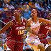 NCAA Womens Basketball 2014:Arkansas vs Tennessee JAN 30