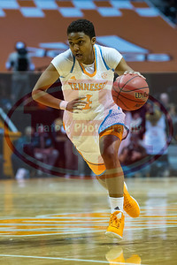 January 28, 2013: guard Kamiko Williams #4 of the Tennessee Lady Volunteers drives to the basket during the NCAA basketball game between the University of Tennessee  Lady Volunteers and Mississippi State University Lady Bulldogs at Thompson-Boling Arena in Knoxville, TN