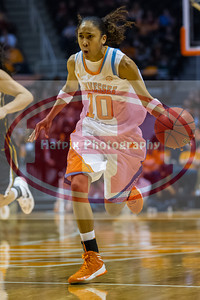 January 10, 2013: guard Meighan Simmons #10 of the Tennessee Lady Volunteers during the NCAA basketball game between the University of Tennessee  Lady Vols and the University of Missouri Tigers at Thompson-Boling Arena in Knoxville, TN