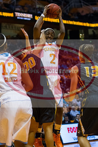 January 10, 2013: forward Jasmine Jones #2 of the Tennessee Lady Volunteers during the NCAA basketball game between the University of Tennessee  Lady Vols and the University of Missouri Tigers at Thompson-Boling Arena in Knoxville, TN