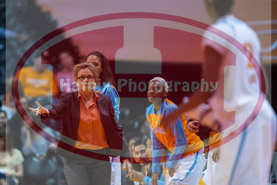 January 10, 2013: head coach Holly Warlick of the University of Tennessee and players during the NCAA basketball game between the University of Tennessee  Lady Vols and the University of Missouri Tigers at Thompson-Boling Arena in Knoxville, TN