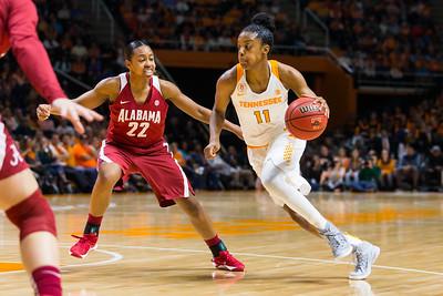NCAA Basketball 2016: Alabama vs Tennessee JAN 31