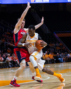 NCAA Basketball 2015: Florida Atlantic vs Tennessee DEC 16