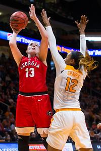 NCAA Basketball 2016: Georgia vs Tennessee FEB 28