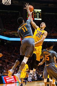 NCAA Basketball 2016: LSU vs Tennessee FEB 20