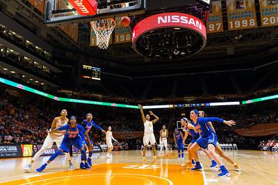 NCAA Basketball 2017: Florida vs Tennessee FEB 23