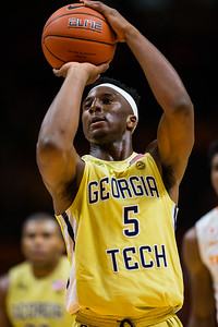 NCAA Basketball 2016: Georgia Tech vs Tennessee DEC 03