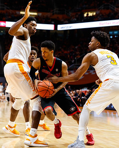 NCAA Basketball 2017: Georgia vs Tennessee FEB 11